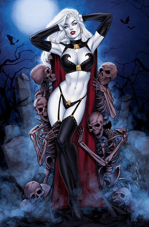 Nude lady death Lady Death
