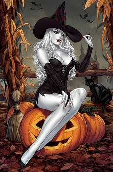 Lady Death Halloween Witch