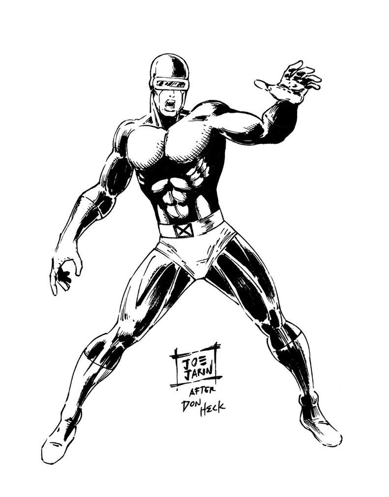 X Men Cyclops Drawings X-Men - Cyclops by joe...