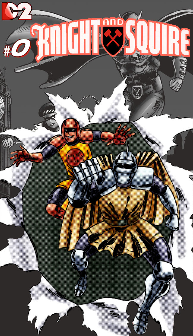 DC2: Knight and Squire #0 by joeyjarin on DeviantArt