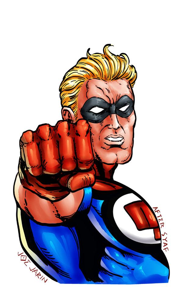 Fist of Justice! by joeyjarin