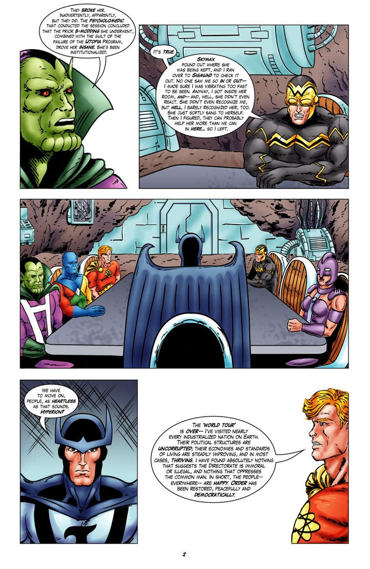 Squadron Supreme: Welcome Back - Page 2 by joeyjarin