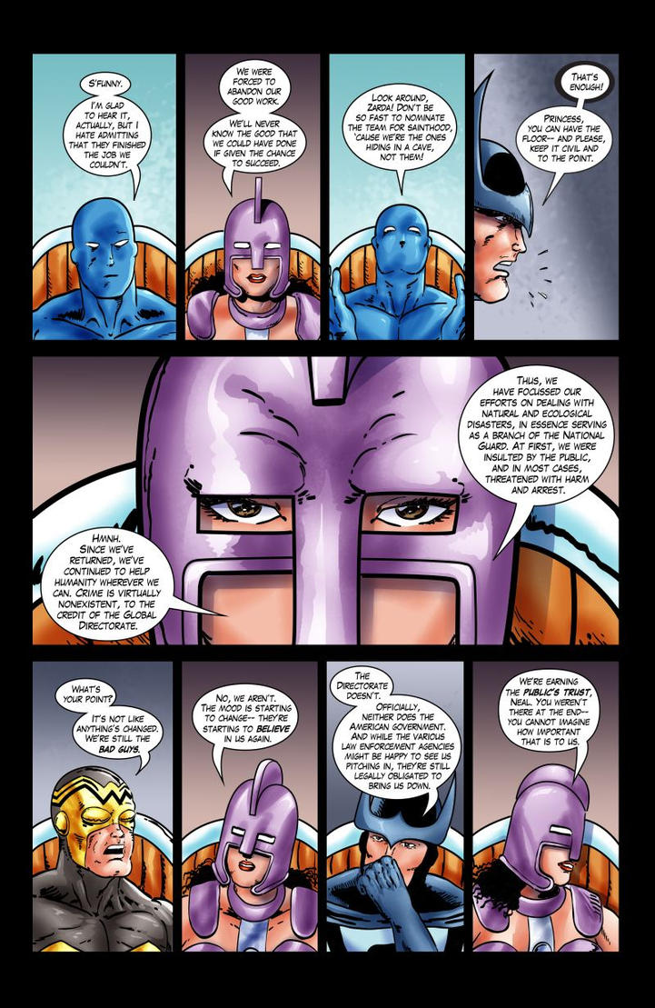 Squadron Supreme: Welcome Back - Page 3 by joeyjarin