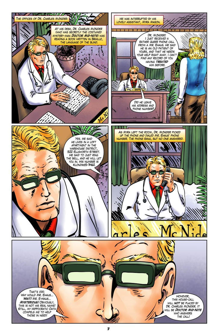JSA 1944: The Incredible Mr. Horrific - Page 7 by joeyjarin
