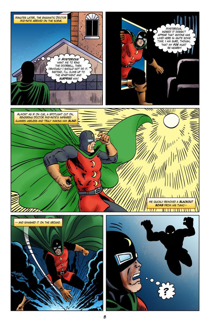 JSA 1944: The Incredible Mr. Horrific - Page 8 by joeyjarin