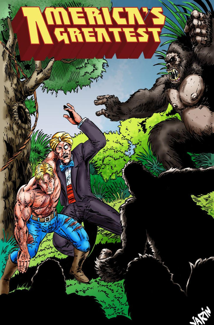 America's Greatest 1953: Gorilla Warfare by joeyjarin