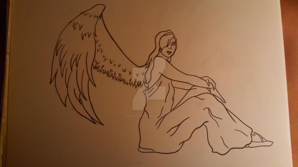 Angel for Grandma by xelathegreat