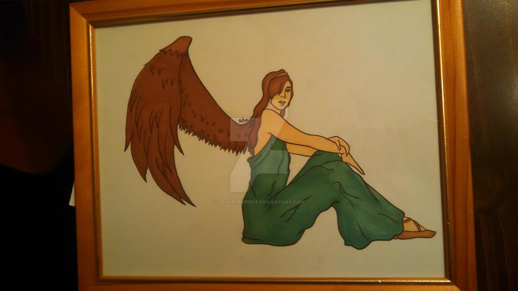 Angel for Grandma Colored by xelathegreat