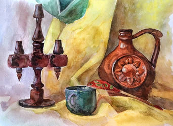 Still life Warm tones