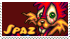 JJR - Spaz stamp