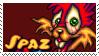 JJR - Spaz stamp by justrob