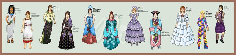 Historical Fashion Timeline Part 1 by Alexandra-chan on DeviantArt