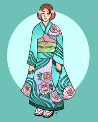 Okimoto Manami by Alexandra-chan
