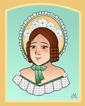 Portrait of Caroline May by Alexandra-chan