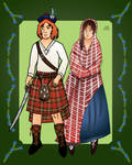 Rory Macgregor and Morna Menzies Macgregor by Alexandra-chan