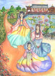 Ladies of Lotus Temple by Alexandra-chan