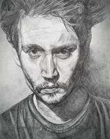 Johnny Depp Sketch by Spangledstars