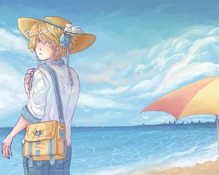 Beach Day by Mr-Plushie