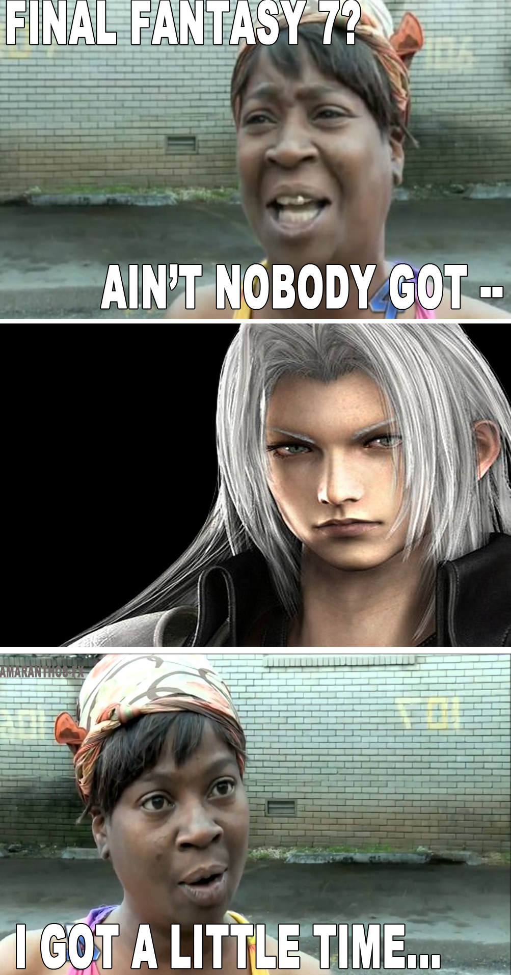 AIN'T NOBODY GOT TIME FOR THAT by Amaranthos-fx on DeviantArt