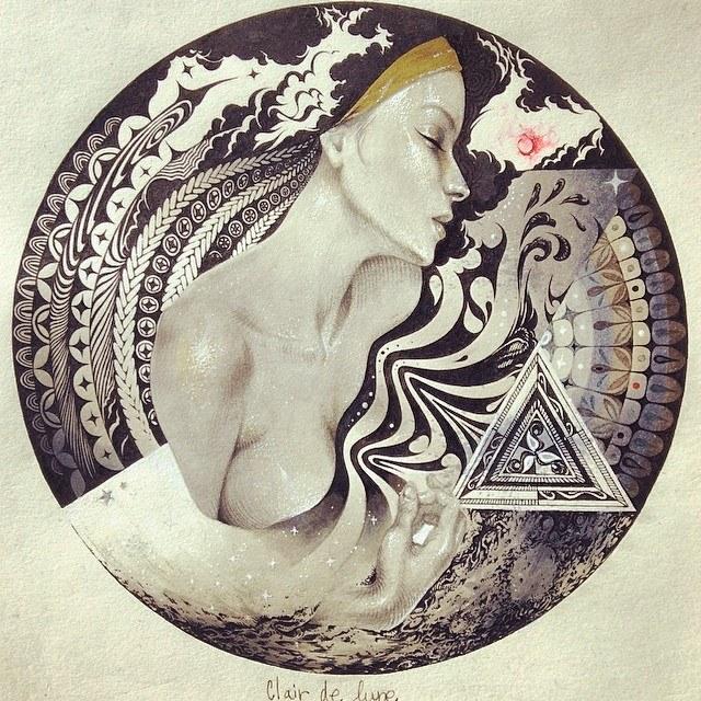 Clair de Lune(2014) by greno89