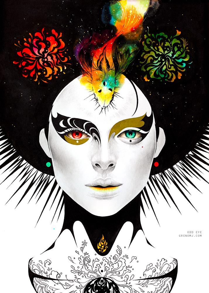 Odd Eye by greno89