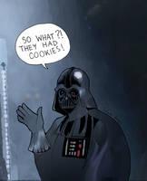 Darth Vader by ilcielocapovolto