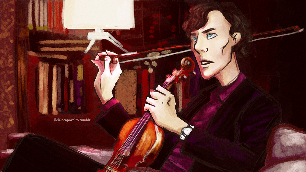 Sherlock. by ilcielocapovolto