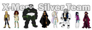 X-Men: Silver Team (OCs) by Yaoi-Bear