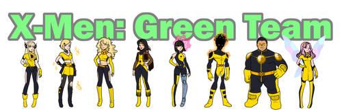 X-Men: Green Team (New Mutants)