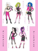 The New Pink Punk by Yaoi-Bear