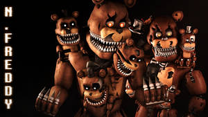 you're not freddy for nigtmares...