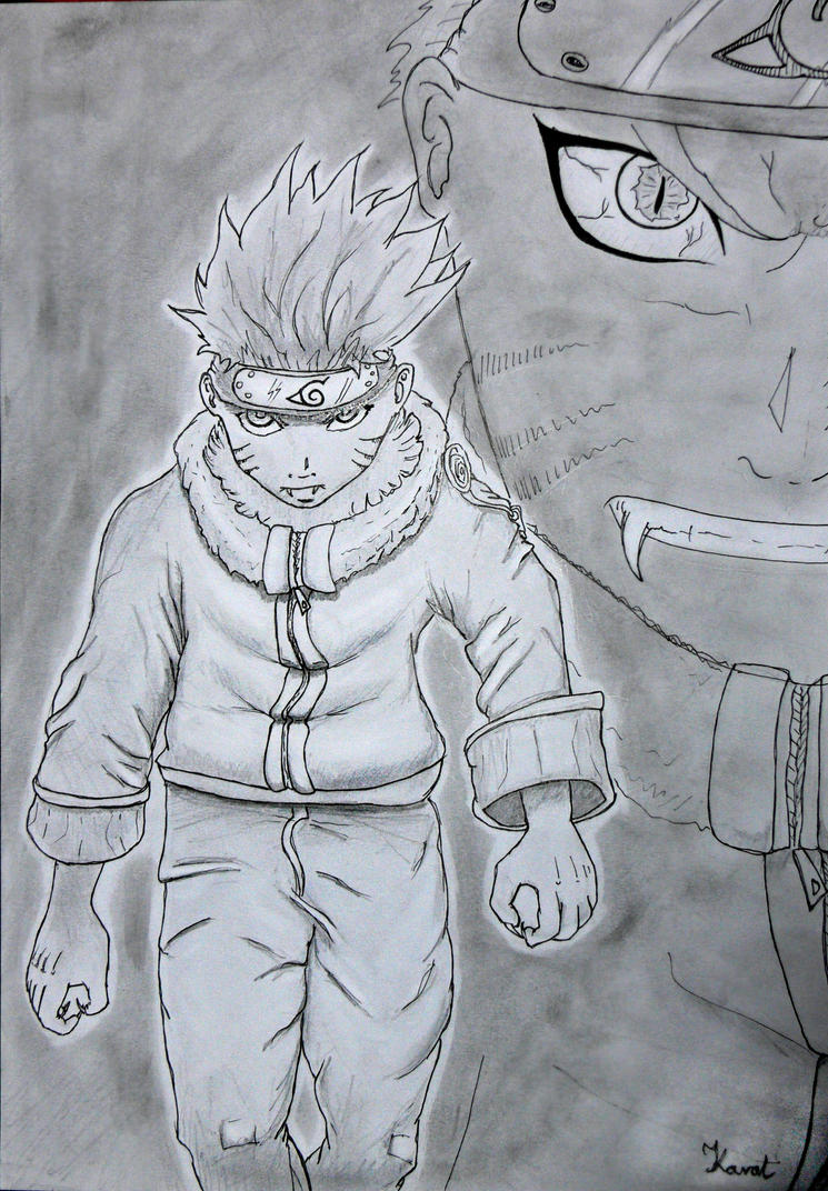 Naruto by KarolSzaman3