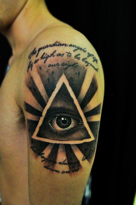 All Seeing Eye Tattoo Designs: All-seeing Eye Tattoo By Thick-mcrunfast On DeviantArt