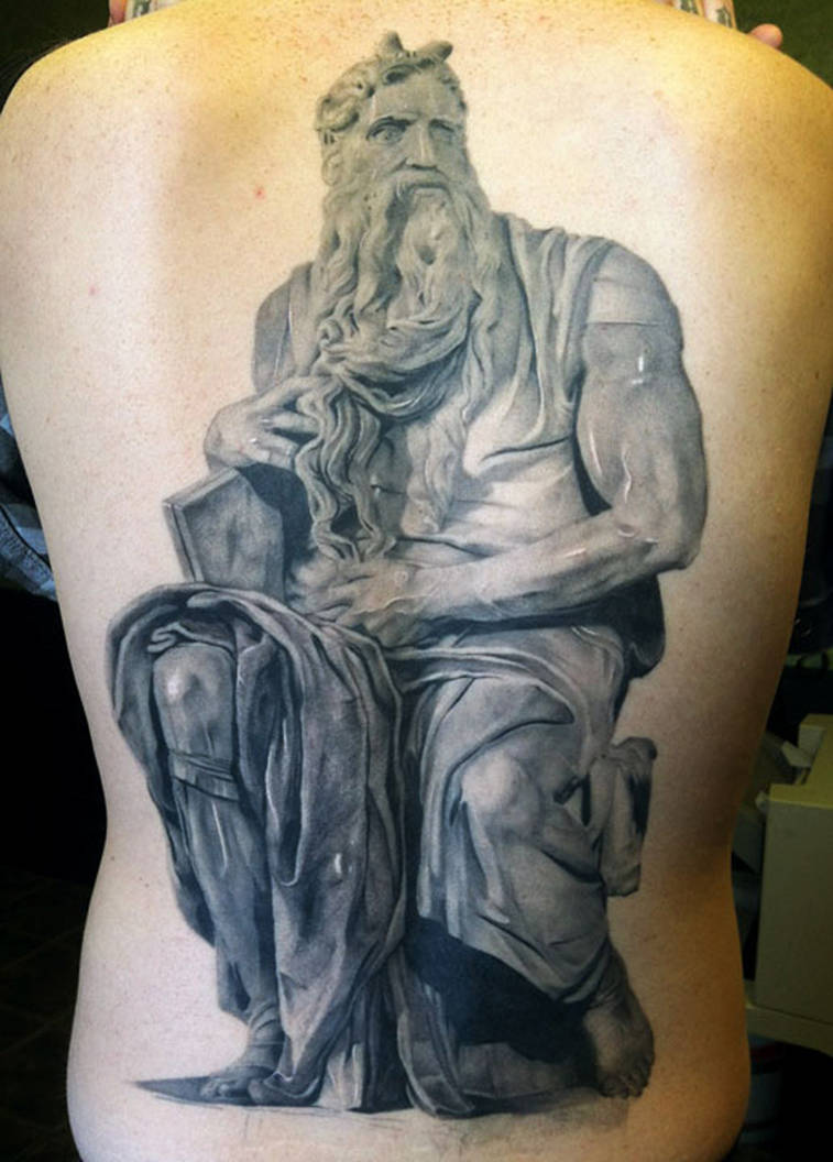 Moses Tattoo by thick-mcrunfast
