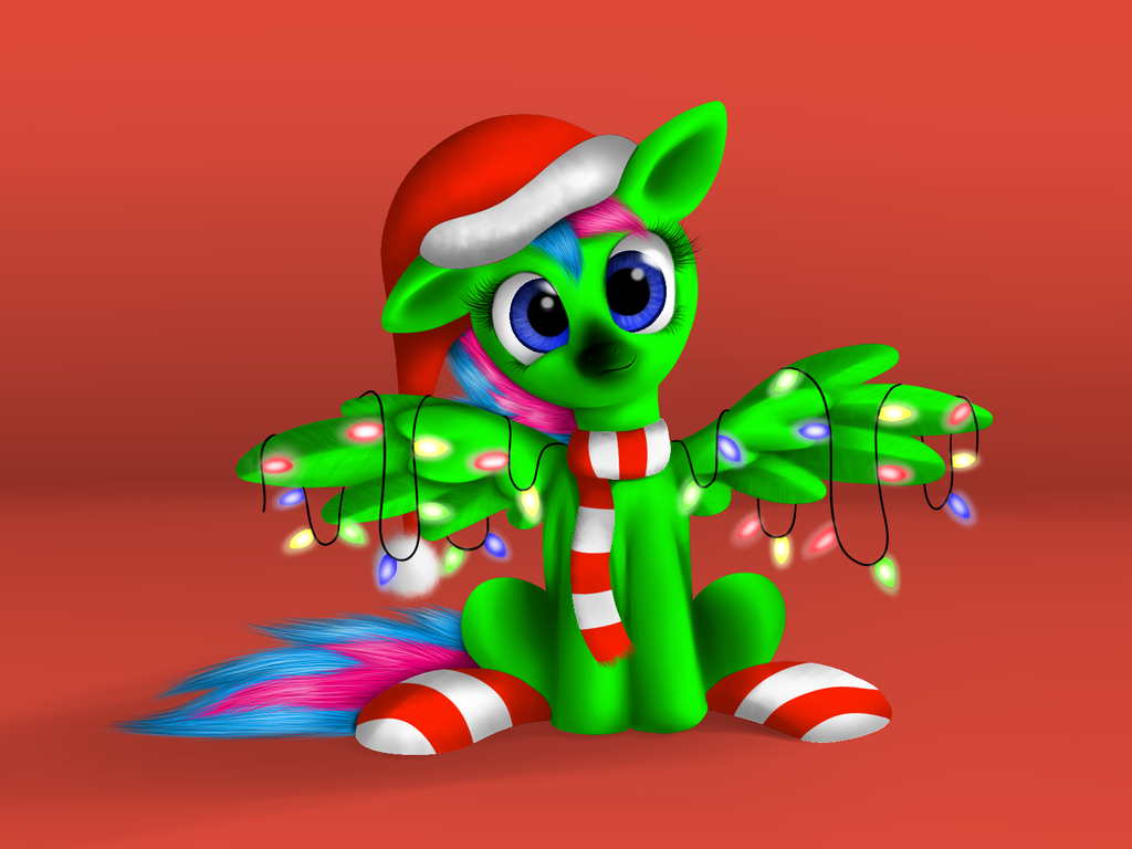Christmas Pone by LuminousDazzle