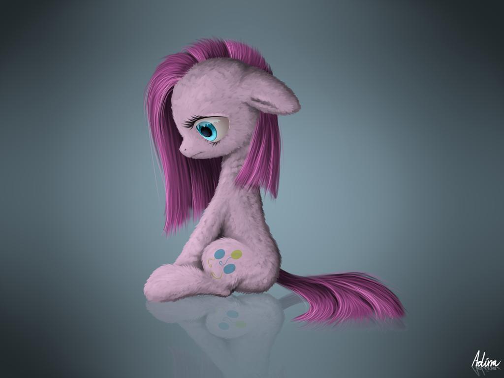 Floofy Pinkamena by LuminousDazzle