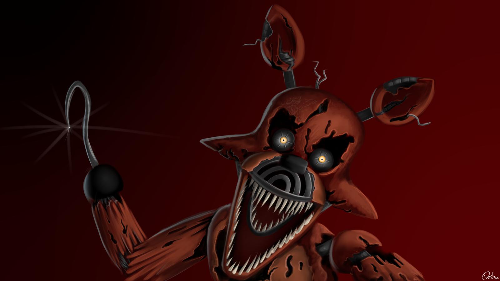 Nightmare foxy by luminousdazzle on deviantart