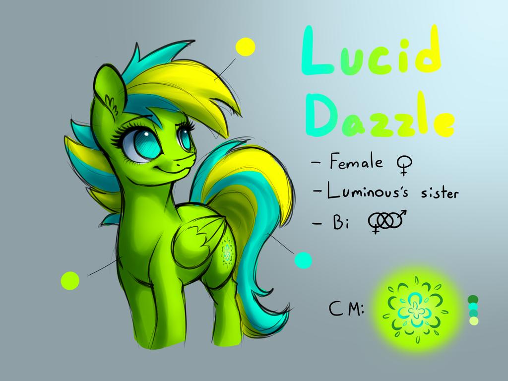 Lucid Dazzle [Reference Sheet] by LuminousDazzle