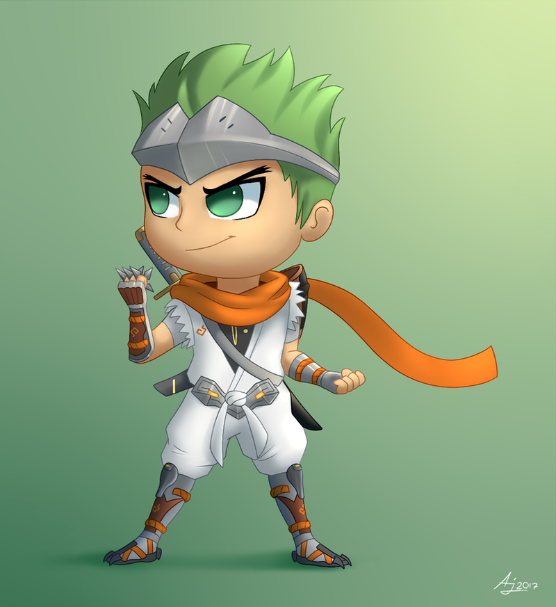 Young Genji by LuminousDazzle