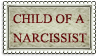 Child Of A Narcissist (STAMP) by Zagittorch