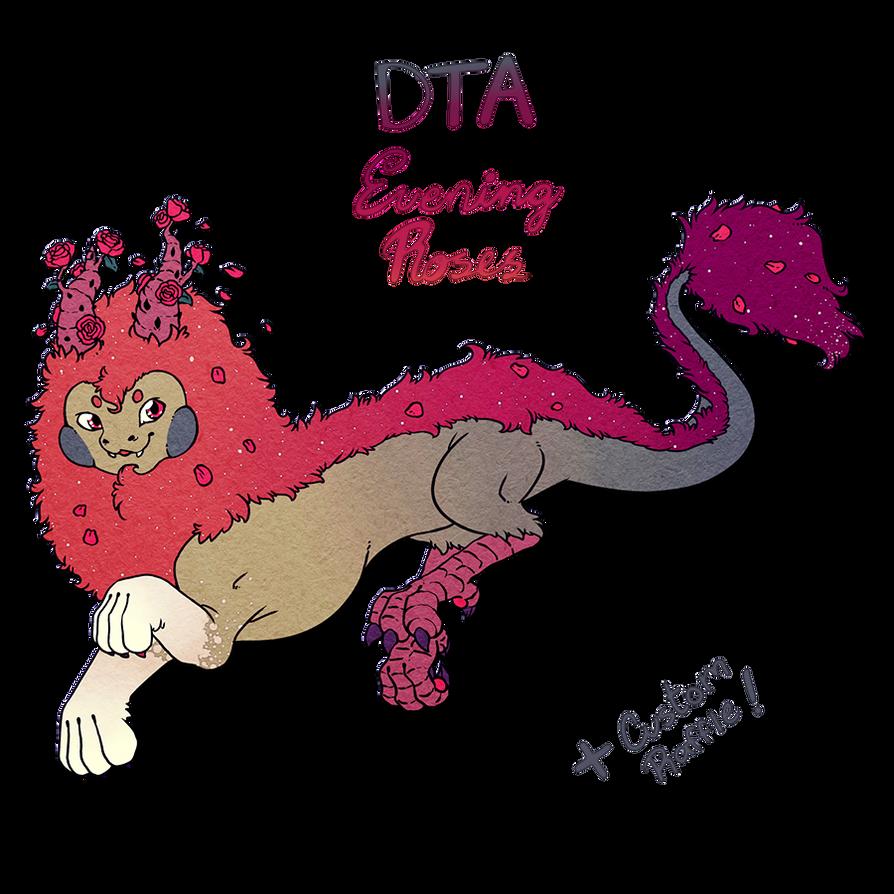Evening Roses (DTA+CUSTOM RAFFLE OPEN) by Zagittorch