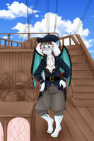 Comm: Pirate Pocky by CherubGem