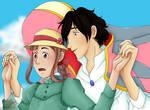 Ryota's Moving Castle by CherubGem