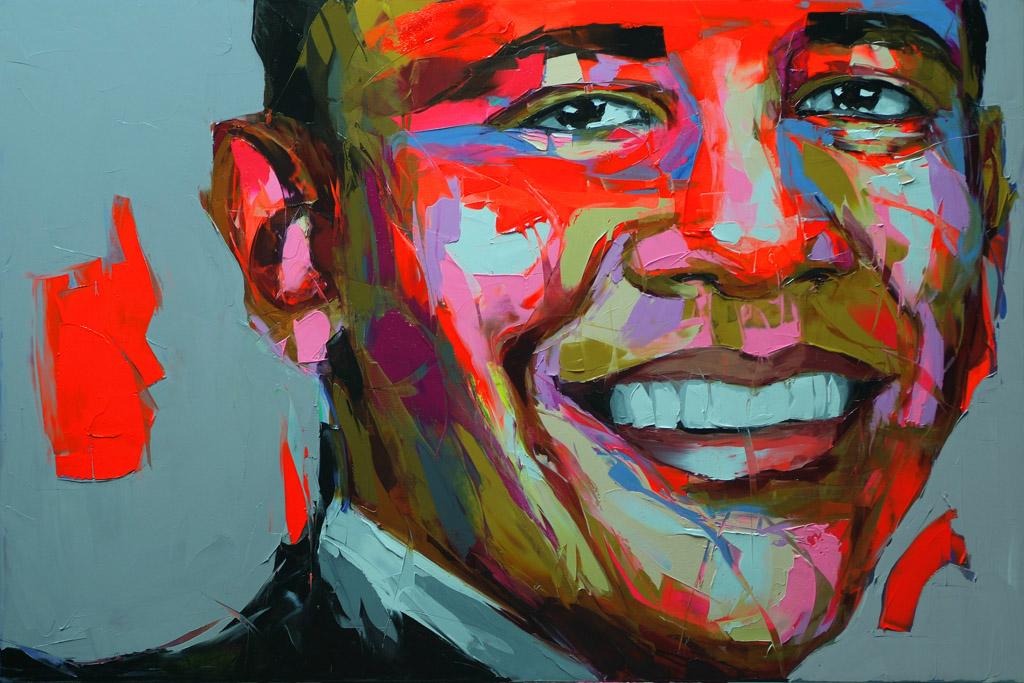 Barak Obama by Diriane