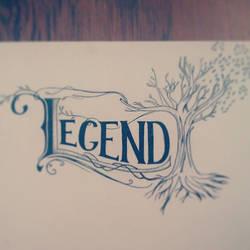 Legend - hand drawn