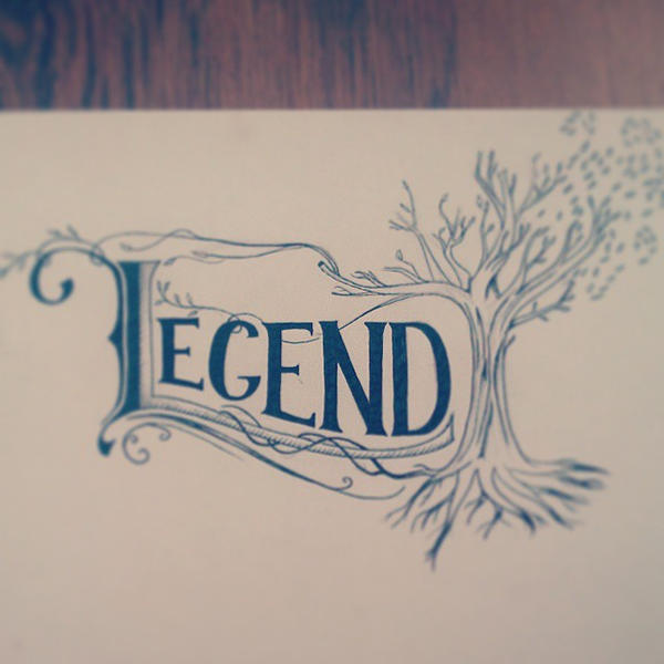 Legend - hand drawn by aniadz