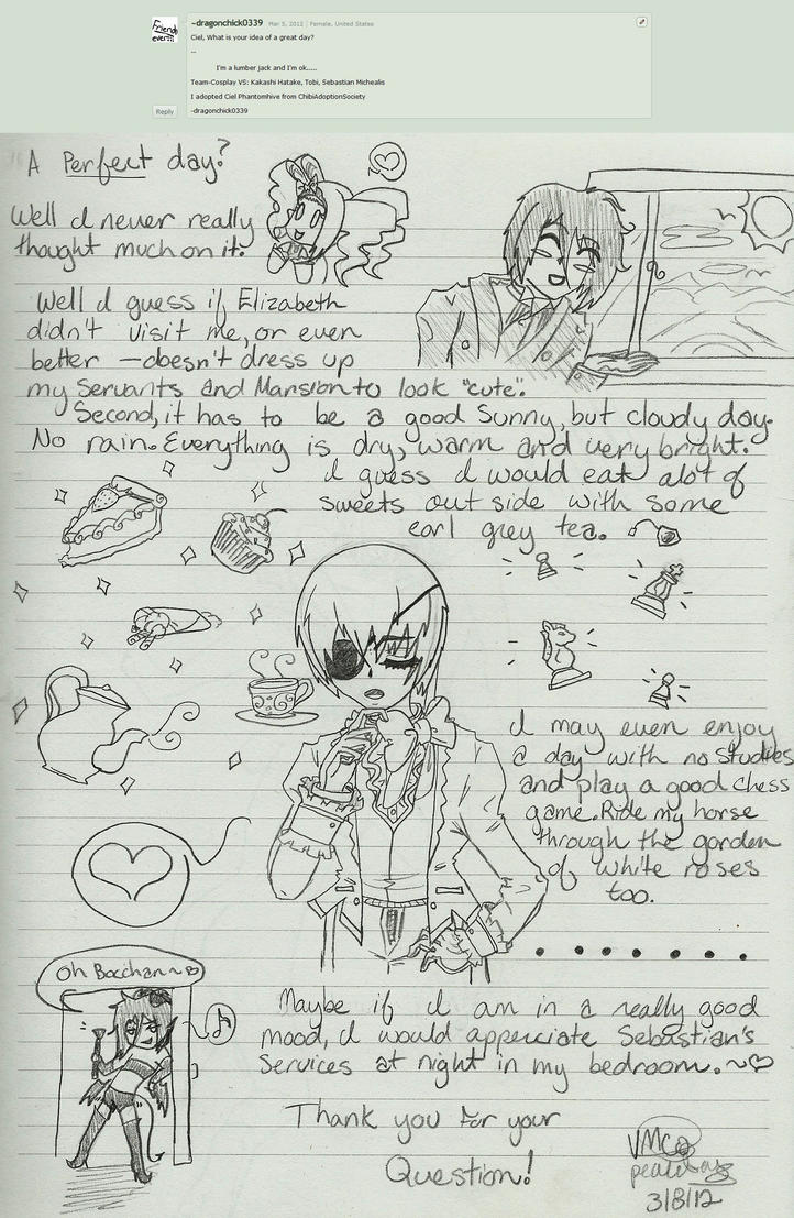 ask ciel question 1 by noblecielphantomhive fan art traditional art