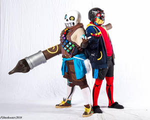 [Undertale Cosplay] Creation and Destruction by NobleChinchi