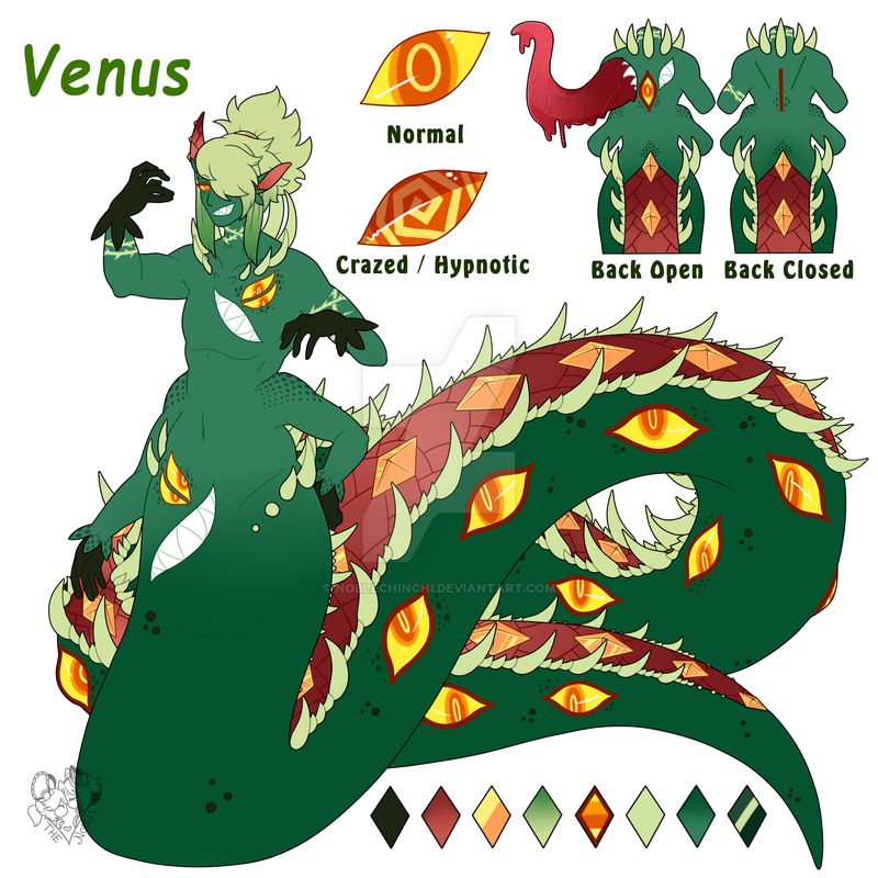 P] Venus: The World Serpent by NobleChinchi on DeviantArt