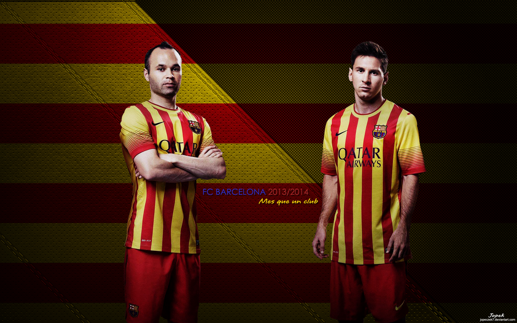 FC Barcelona 2013 2014 Wallpaper By Jopeczek7